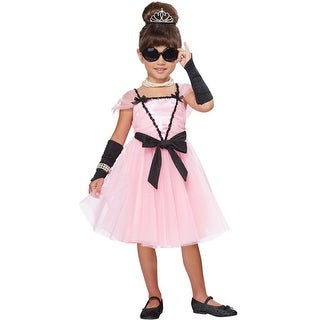 California Costumes Little Movie Starlette Toddler Costume - Pink