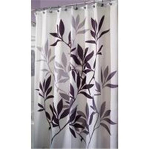 Shop Inter Design Shower Curtain Leaves 72X72 35620