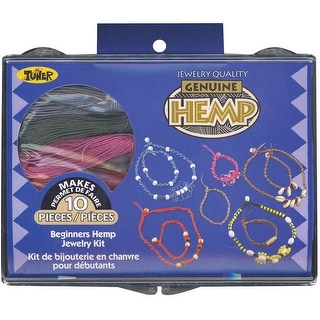Beginners Hemp Jewelry Kit-