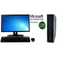 """HP 6005 SFF, X2 3.0GHz, 8GB, 750GB, W10 Pro, 17""""LCD"""