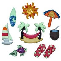 Tropicana - Dress It Up Embellishments