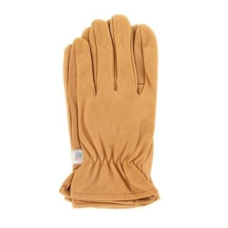 M&F Western Work Gloves Mens Genuine Deerskin Suede Brown