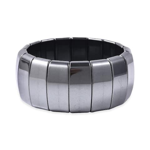 Shop LC Stretch Bracelet Hematite Ct 725 Jewelry For Women - Medium