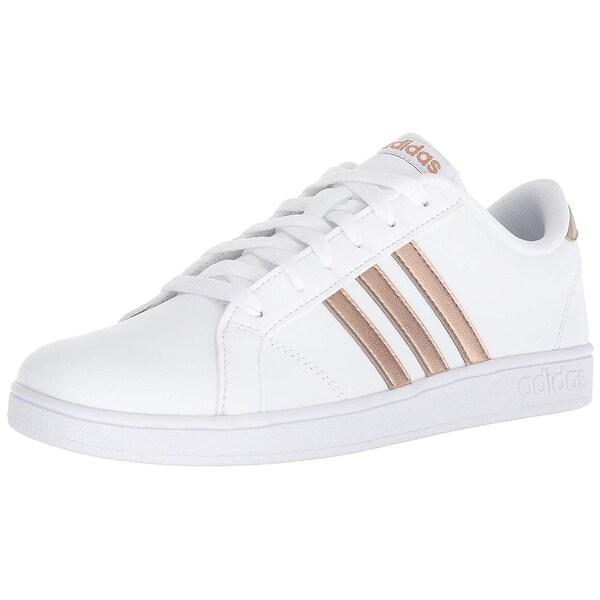 pretty nice e905f 17367 Adidas Originals Unisex-Kids Baseline Sneaker, White Copper Metallic Black,  4.5