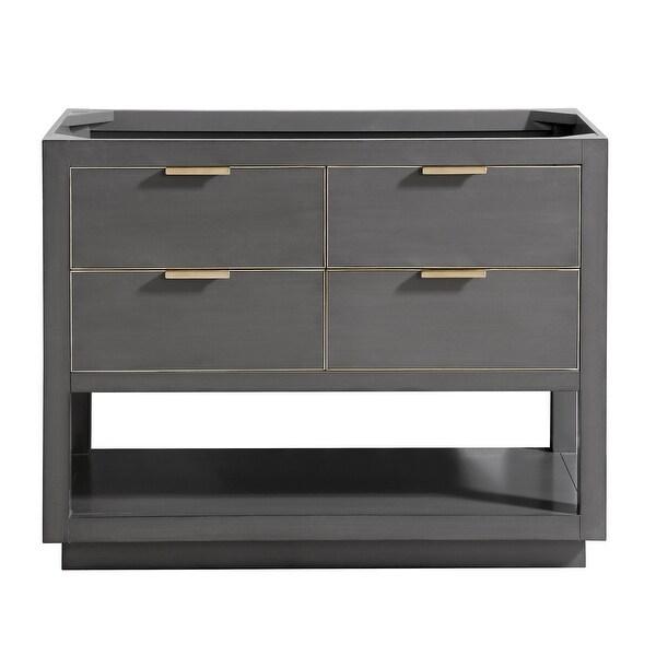 "Avanity ALLIE-V42 Allie 42"" Single Free Standing Wood Vanity Cabinet Only"