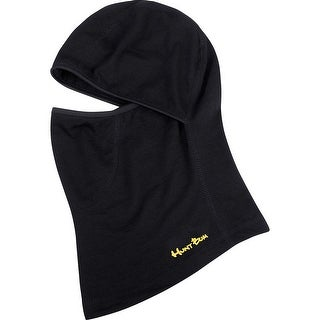 Legendary Whitetails Men's Seeker Black Wool Balaclava