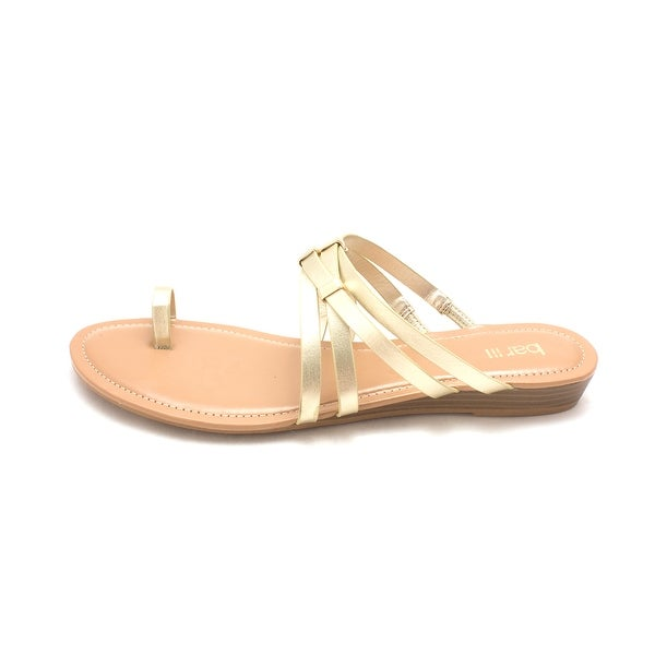 Bar III Womens Vanitap Open Toe Casual Slide Sandals - 11
