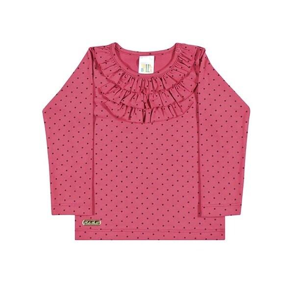 Baby Girl T-Shirt Long Sleeve Newborn Infant Winter Top Pulla Bulla 3-12 Months