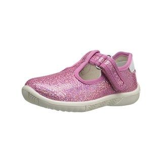 Naturino Girls Mary Janes Sequin T-Strap - 22 medium (b,m)