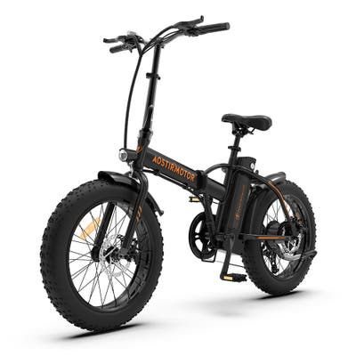 Folding Electric Bicycle 500W Motor Fat Tire With 36V/13Ah Li-Battery