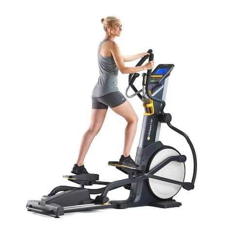 LifeSpan Fitness e3i magnetic Elliptical trainer exercise machine - Black