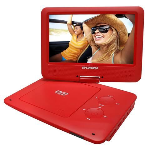 "Sylvania 9"" Swivel Screen Portable DVD/CD/MP3 Player Manufacturer Refurbished"