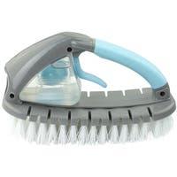 """Casabella 44712 Flex Dispensing Brush, Aqua/Grey, 8"""""""