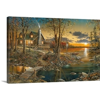 """""""Comforts of Home"""" Canvas Wall Art"""