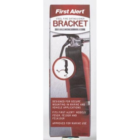 First Alert BRACKET2 Fire Extinguisher Bracket, 2 lb