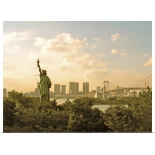 """""""Statue of Liberty."""" Poster Print"""