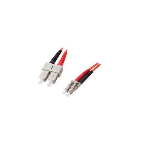 Startech Fiblcsc3 Fiber Optic Cable - Multimode Duplex 62.5/125 - Lszh - Lc/Sc - 3 M