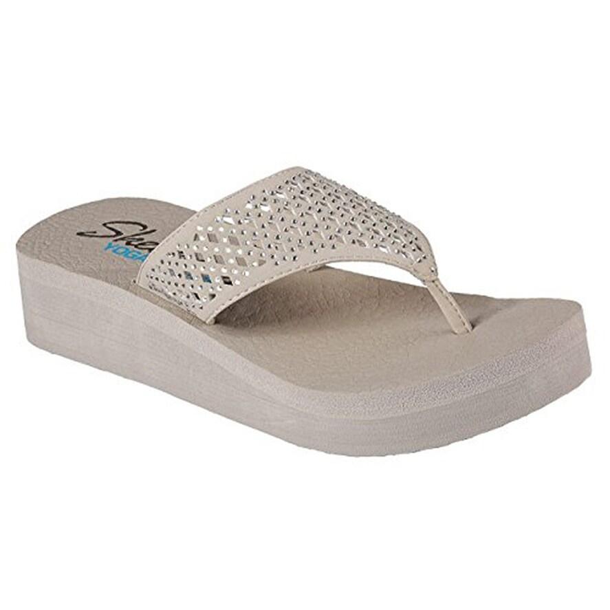 skechers flip flops with memory foam