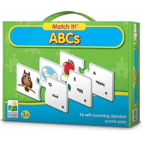 The Learning Journey Match It ABCs - multi