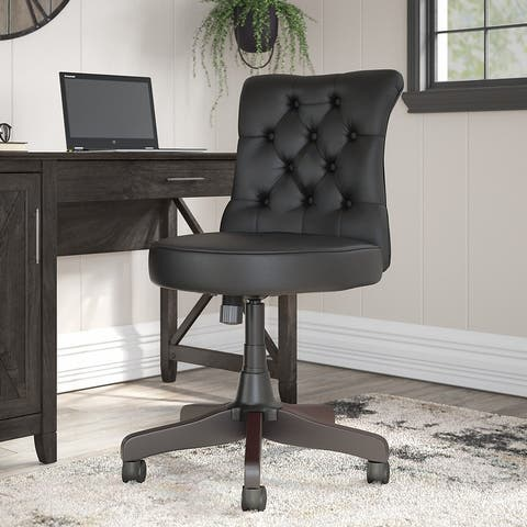 The Gray Barn Hatfield Mid Back Tufted Office Chair