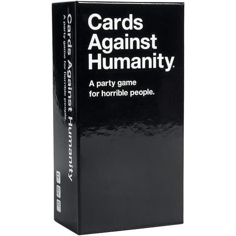 Cards Against Humanity For Party Games - black