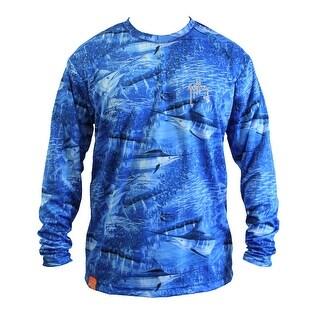 Guy Harvey Mens Legend Camo Performance Shirt