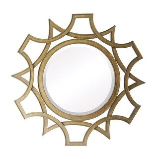 """Sterling Industries 55-213 Abberley 40"""" Height Mirror - maiden gold - N/A"""