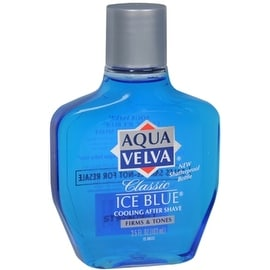 Aqua Velva Classic Ice Blue Cooling After Shave 3.50 oz