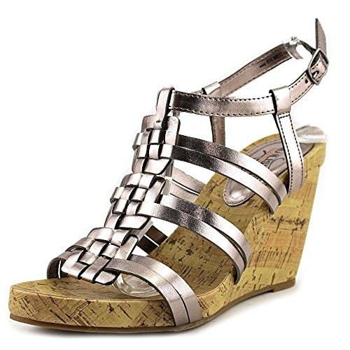 Kenneth Cole Unlisted Womens Work Group Open Toe Casual Platform Sandals - 10