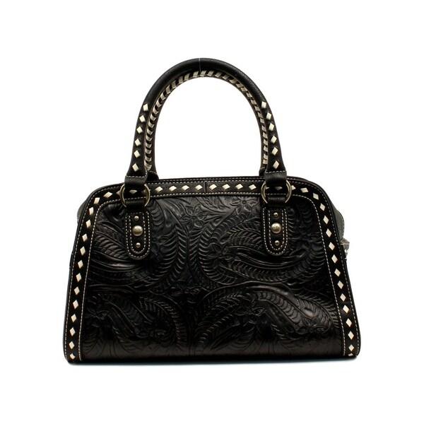 Blazin Roxx Western Handbag Womens Nora Doctor Bag Floral - 9 x 5 x 12