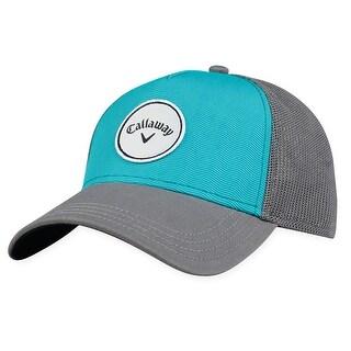 Callaway Women's Snapback CG Trucker Golf Hat - adjustable