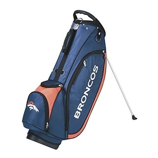 Wilson golf wgb9750dn nfl carry bag denver broncos