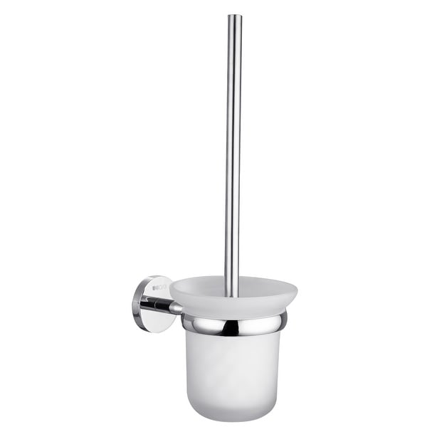 Ucore Toilet Brush & Holder With Mounting Hardware
