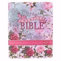 KJV My Creative Bible-Floral Silky Soft Flexcover by Christian Art