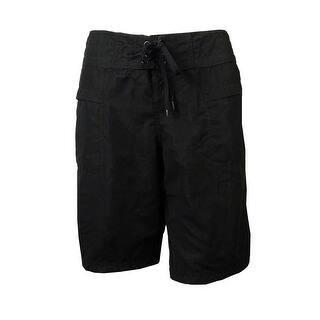 Island Escape Women's Swimwear Surf City Board Shorts (6, Black) - Black https://ak1.ostkcdn.com/images/products/is/images/direct/526476331467207789706c98adb13612e6232f04/Island-Escape-Women%27s-Swimwear-Surf-City-Board-Shorts-%286%2C-Black%29.jpg?impolicy=medium
