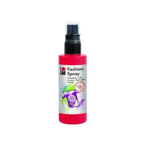 17199050232 marabu fashion spray paint 3 4oz red