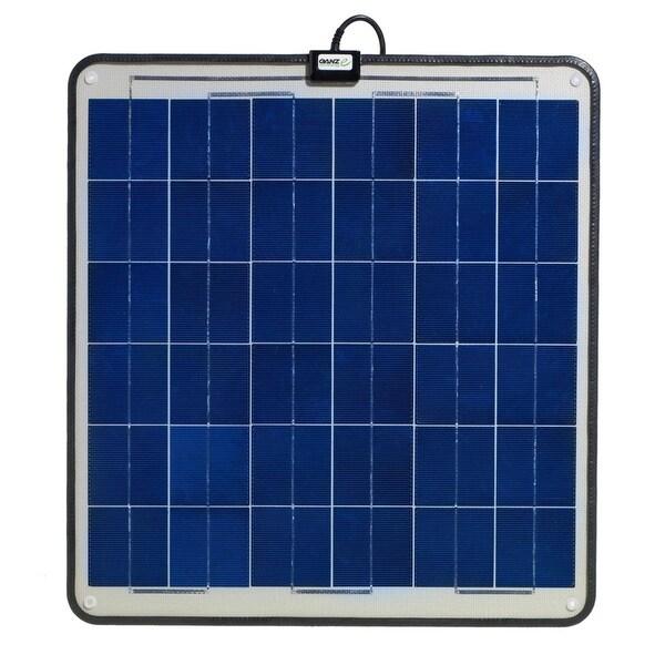 Ganz Eco-Energy 30W Semi Flexible Solar Panel - GSP-30