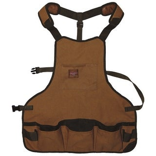 "Bucket Boss 80200 Duckwear Superbib Apron, 23"" W x 23.5"" H"