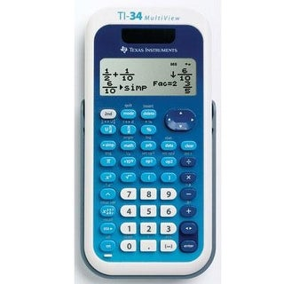 Texas Instruments 34Mv/Tbl/1L1/A Ti 34 Multi View Scientific Calculator