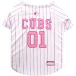 MLB Chicago Cubs Pet Pink Jersey