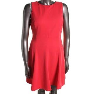 American Living Womens Knit Sleeveless Wear to Work Dress
