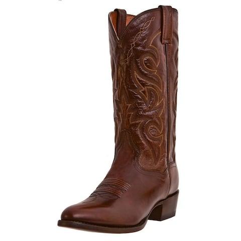 Dan Post Western Boots Mens Milwaukee Cowboy Tan Mignon Corona