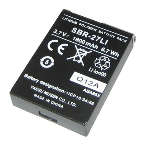 Standard parts standard horizon replacement lithium ion battery pack sbr-27li