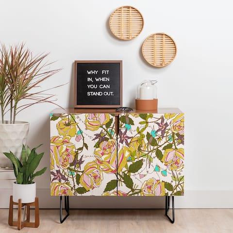Deny Designs Rose Beauty Credenza