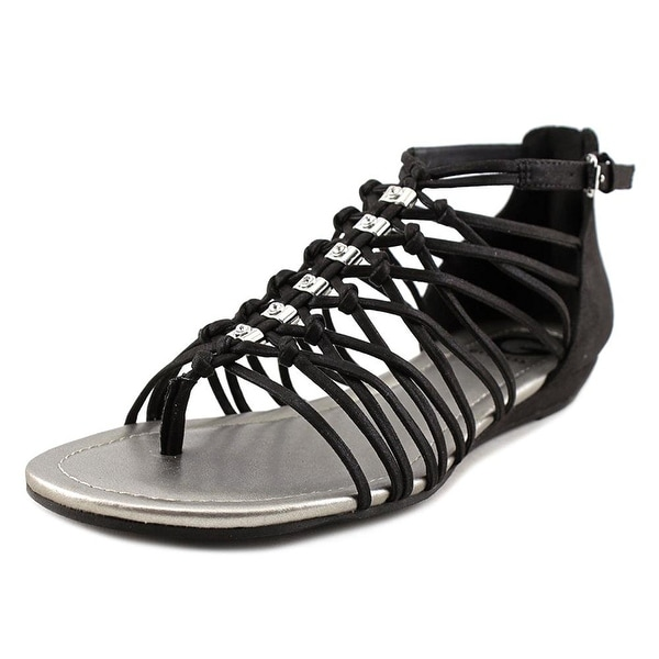 G by Guess Womens Jonsie Fabric Open Toe Casual Strappy Sandals