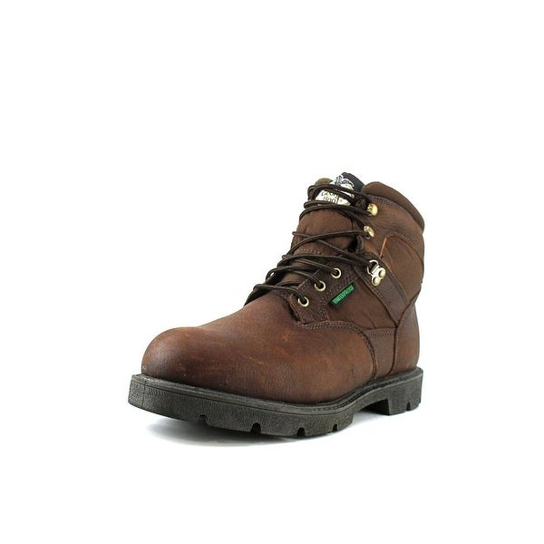"Georgia Boot Homeland 6""   Round Toe Leather  Work Boot"