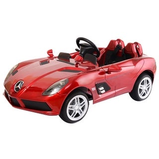 Costway Mercedes Benz Z199 12V Electric Kids Ride On Car Licensed MP3 RC Remote Control - Red