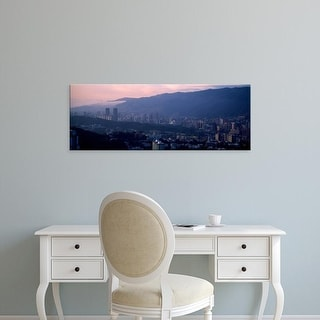 Easy Art Prints Panoramic Images's 'High angle view of a city, Caracas, Venezuela' Premium Canvas Art