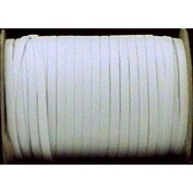 "White - Stretchrite Braided Elastic 1/4""X144yd"