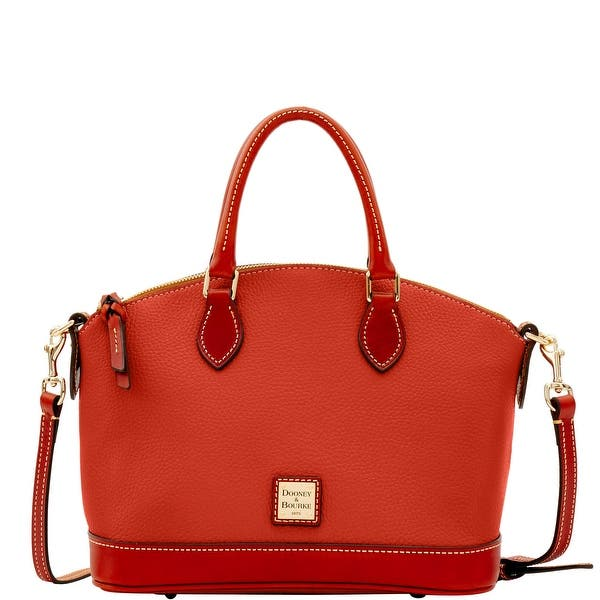 Shop Dooney & Bourke Pebble Darcy Satchel (Introduced by